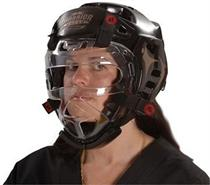 Warrior Clear Face Shield